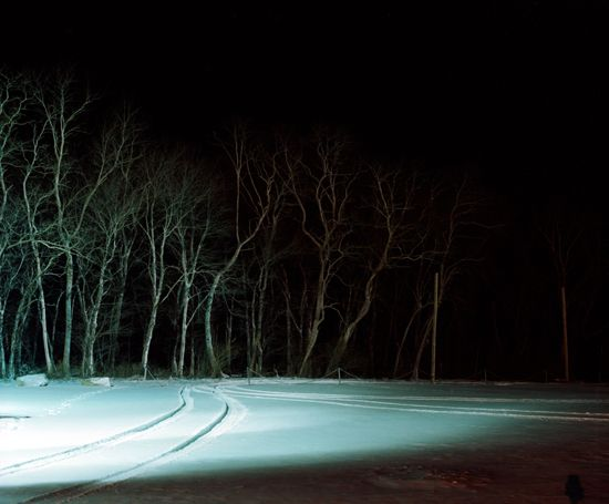 will govus: Colour, Untitled Late, Winter Vibe, Atmosphere, Road, Landscape, Govus Untitled