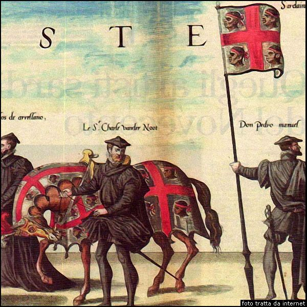 Storia: la bandiera dei quattro mori - the history of Sardinan Flag