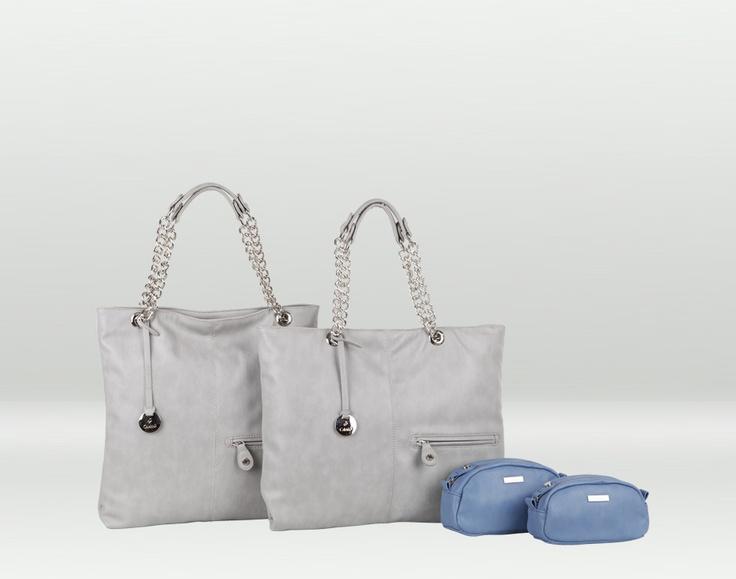 Filicudi, la linea include due borse donna con manico a catena, e due eleganti pochette