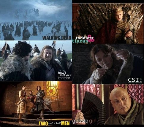 The all in one TV show #gameofthrones