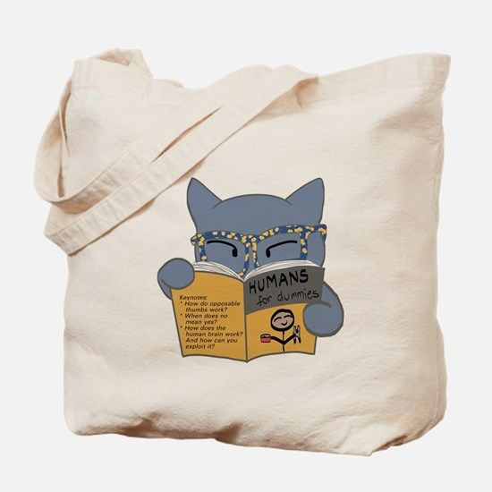 """""""Humans for Dummies"""" Tote Bag $30"""
