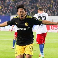 German Bundesliga: Hamburger SV and Borussia Dortmund