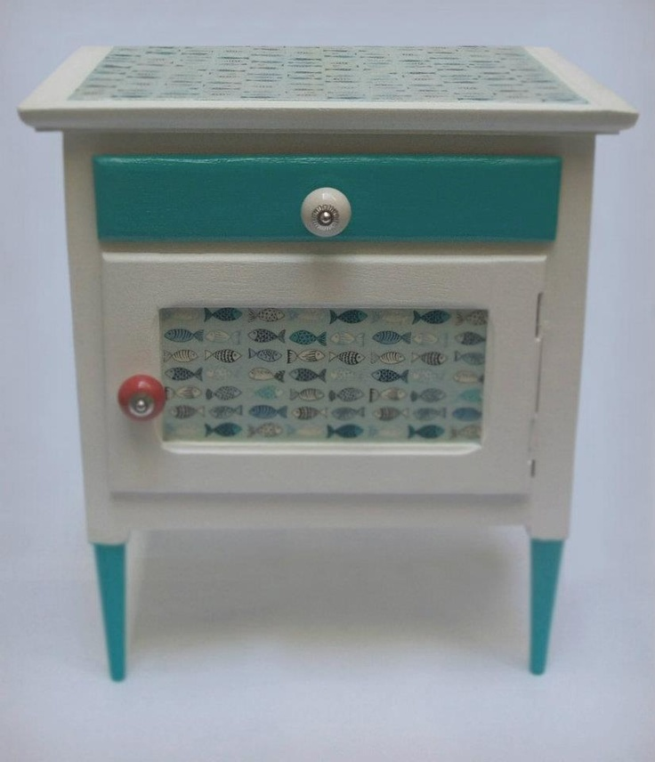 mesa de luz tcnica decoupage decoupage chocha muebles pinterest decoupage night stand and diy cupboards