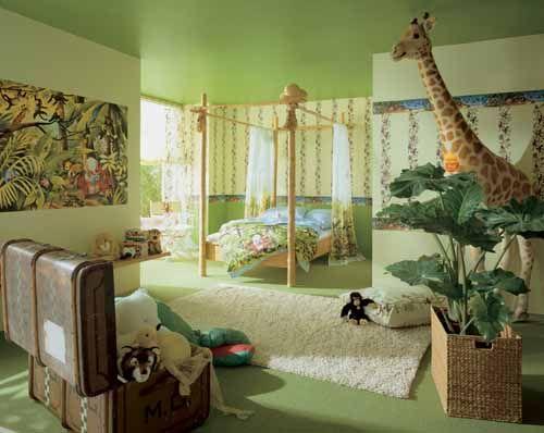 Babyzimmer ideen wandgestaltung dschungel  Die besten 25+ Dschungel kinderzimmer Ideen auf Pinterest ...