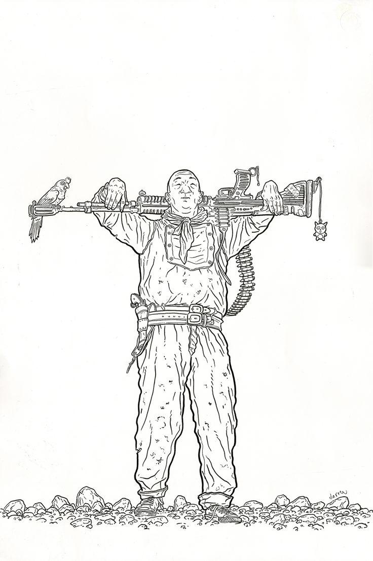 Shaolin Cowboy - Geof Darrow