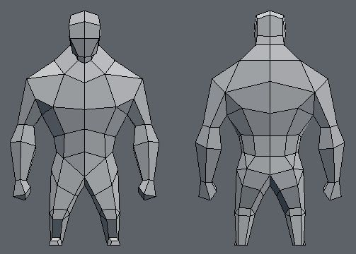 LOWPOLY (sub 1000~ triangle models) - Page 477 - Polycount Forum: