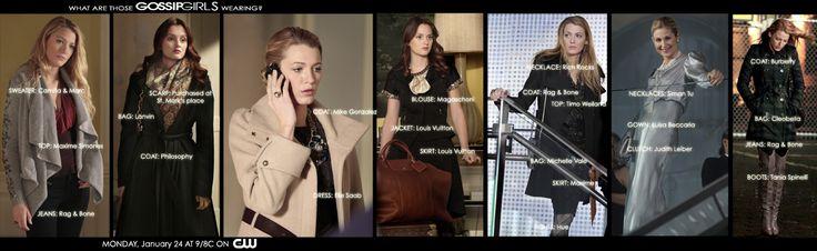 gossip girl season 4   Gossip Girl Fashion in Season 4 for Serena and Blair   Small Screen ...