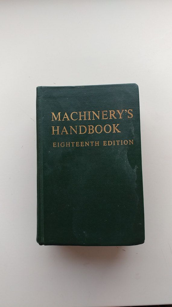 Vintage Machinery's Handbook eighteenth Edition by ZappoAire