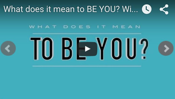 BEING YOU, CHANGING THE WORLD EVENT - Köln, 29.09. - 02-10.2017