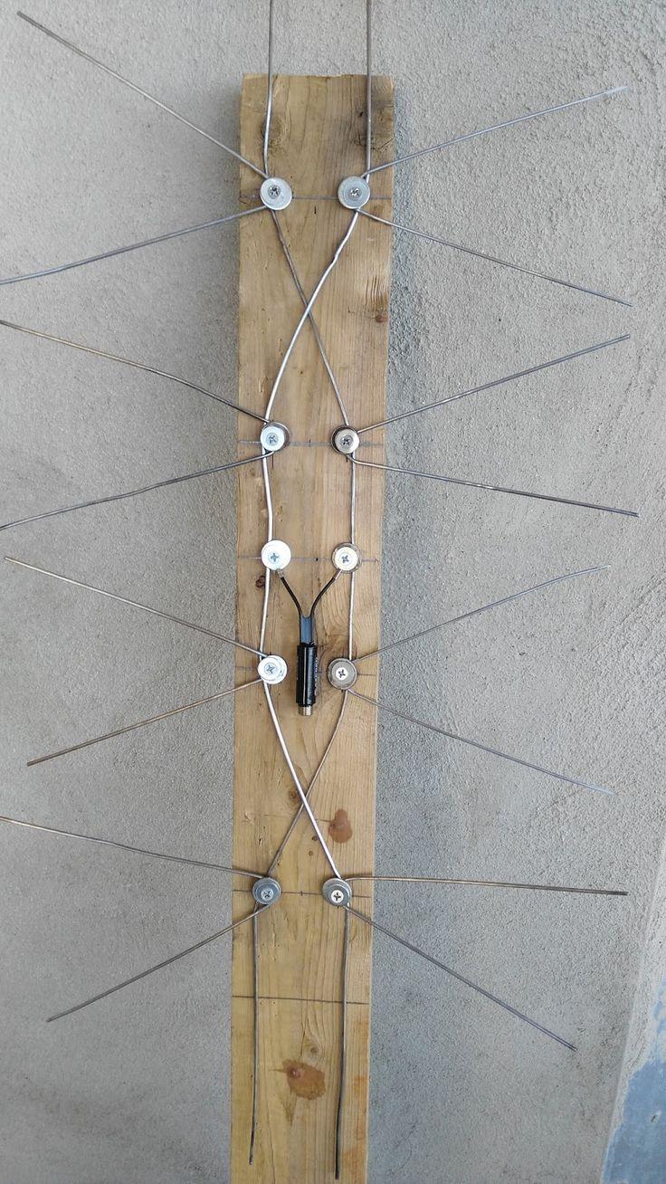 antena casera, antena casera para ver canales HD