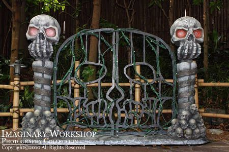 81 best Halloween - Cemetery Gates, Arches and Entrances ...