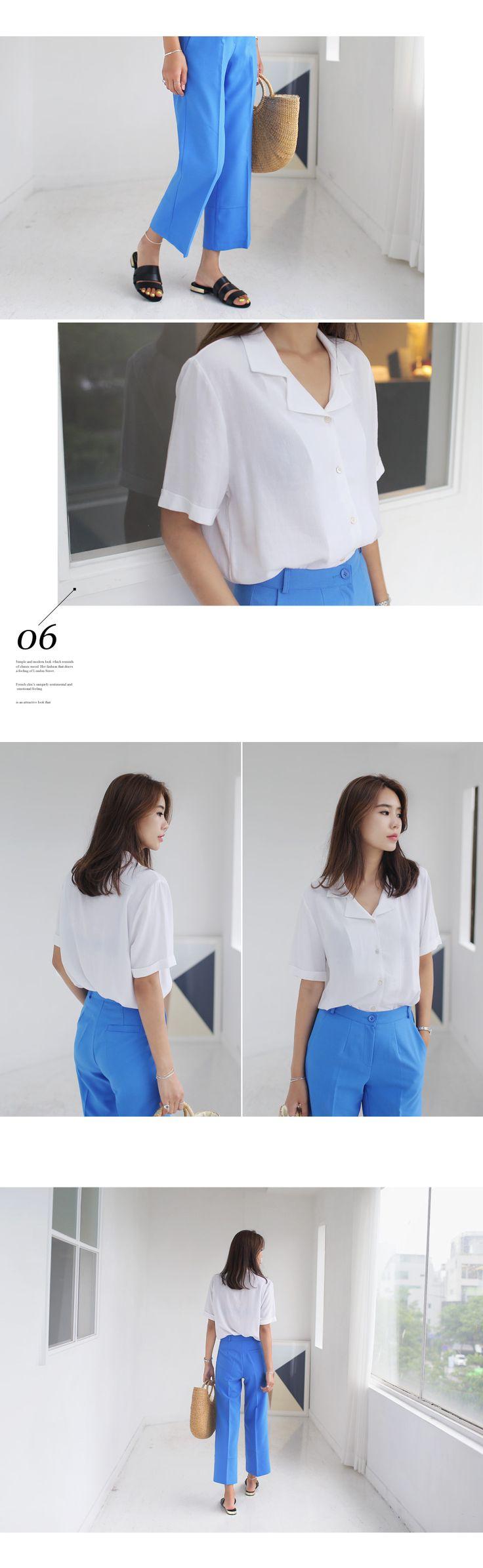 2TYPEロールアップスリーブオープンカラーシャツ・全4色シャツ・ブラウスシャツ|レディースファッション通販 DHOLICディーホリック [ファストファッション 水着 ワンピース]