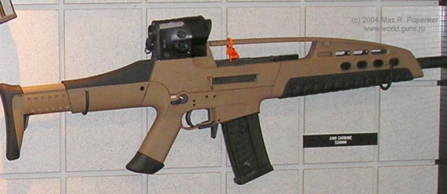 XM8 rifle in basic infantry Save those thumbs & bucks w/ free shipping on this magloader I purchased mine http://www.amazon.com/shops/raeind  No more leaving the last round out because it is too hard to get in. And you will load them faster and easier, to maximize your shooting enjoyment.