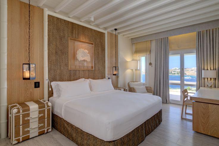 Superior Seaview Room | Santa Marina, A Luxury Resort, Mykonos