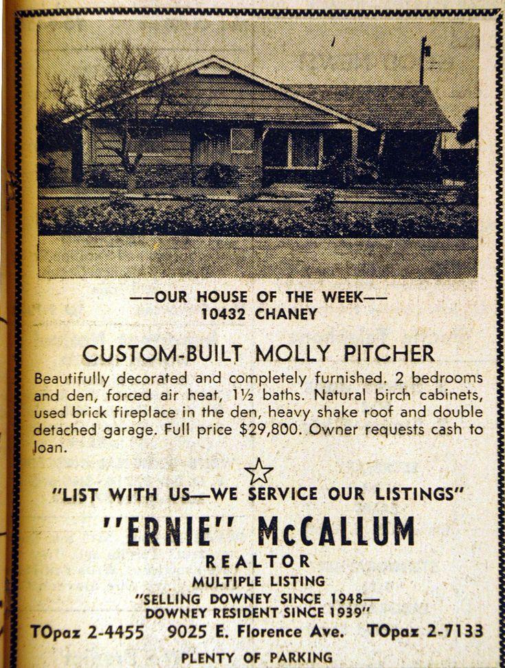 https://flic.kr/p/4sn5Bx | Downey, California Molly Pitcher Ranch House | Downey, California Mid-Century traditional Ranch Homes.   Molly Pitcher Ranch Home