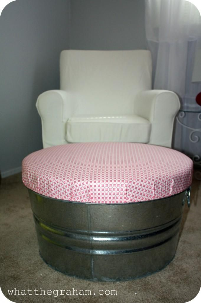 DIY Ottoman DIY home furniture