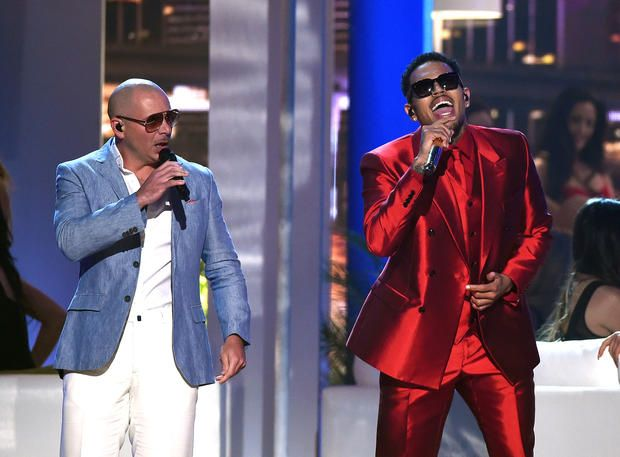 Pitbull and Chris Brown - Billboard Music Awards 2015 - Pictures - CBS News