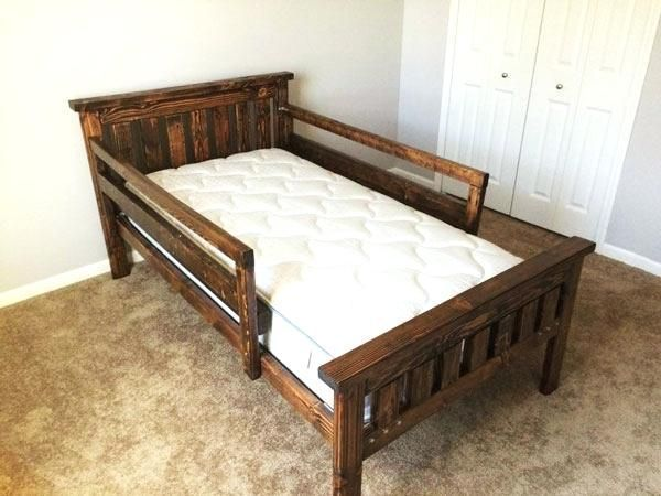 Toddler Bed Woodworking Plans Twin Bed Frame With Trundle And