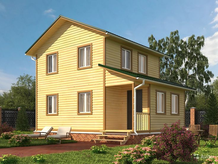 Дом большой, двухэтажный, проект Д83 — фотография №1