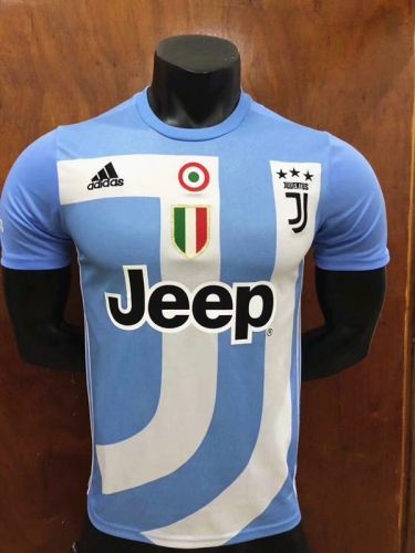 d274343cc 2018-19 Juventus Commemorative Edition Blue Thailand Soccer Jersey AAA-407