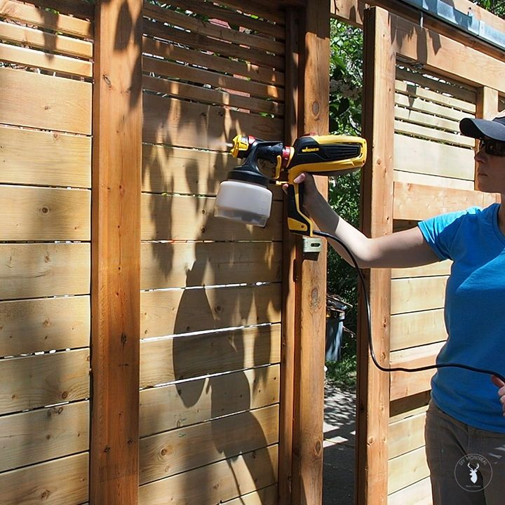 How To Stain And Seal A New Fence Paint Sprayer Stain Wagner