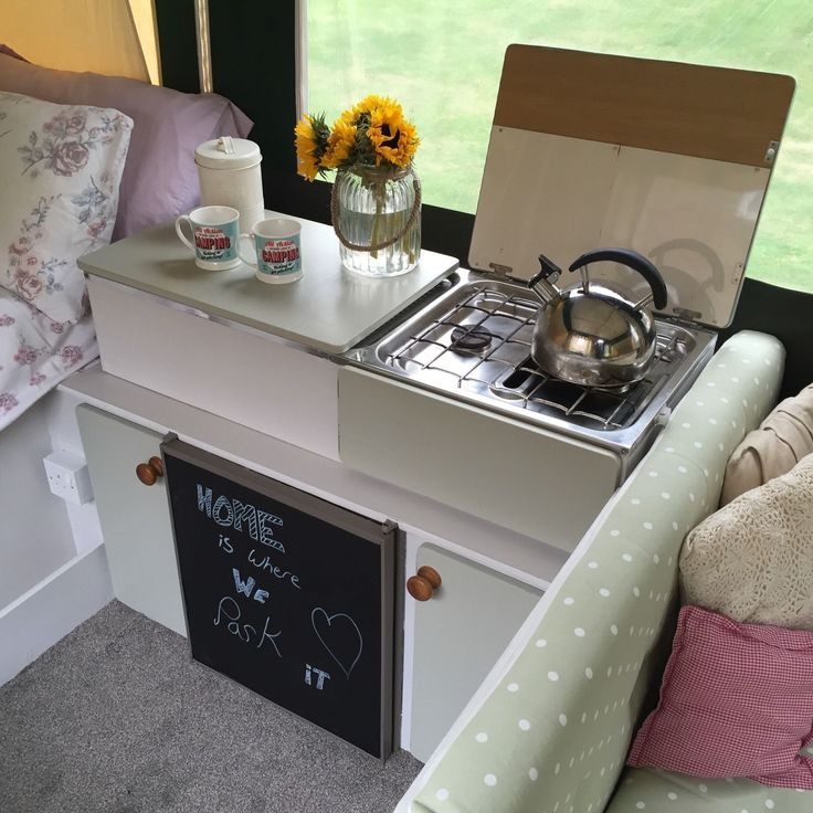 Shabby Chic Conway Tardis Folding Camper Trailer Tent Refurbished Glamping | eBay