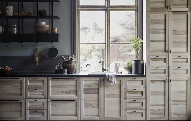 Novità Ikea: le nuove ante in legno per la cucina ...