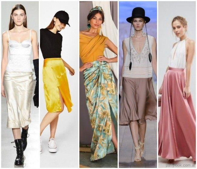 mejor sitio web cbdfb 5bd5b Tendencias: Faldas de moda primavera verano 2019 | Moda de ...