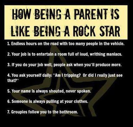 Rock on parents, rock on.