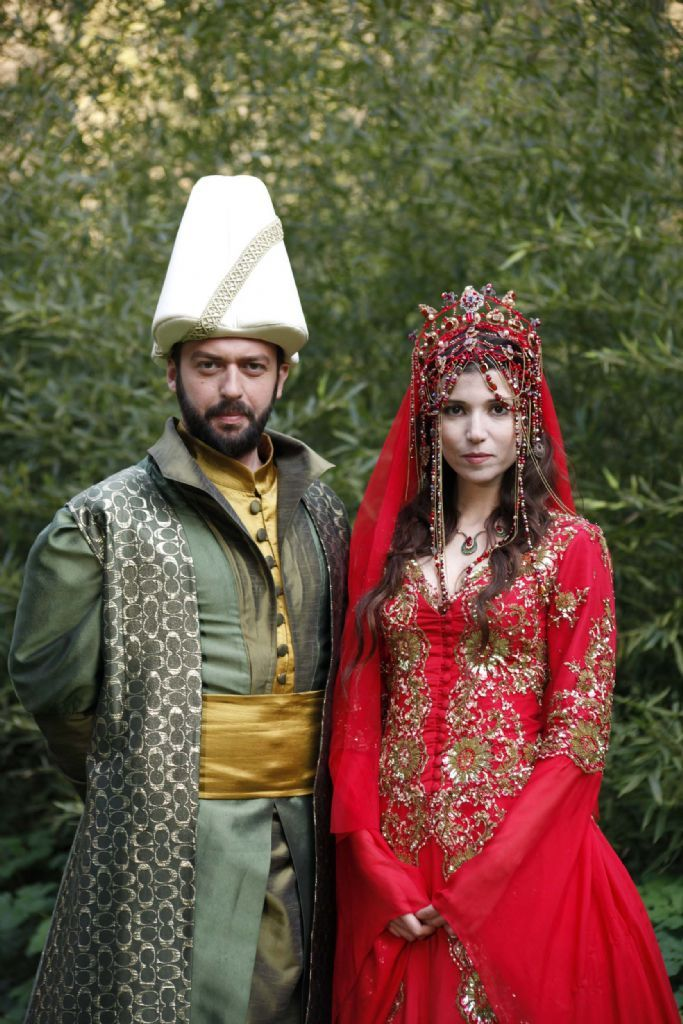 Hatice Sultan's wedding dress - Turkish Wedding - Ottoman realm