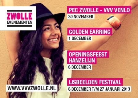 We gaan weer een paar mooie wintermaanden krijgen met deze activiteiten in Zwolle