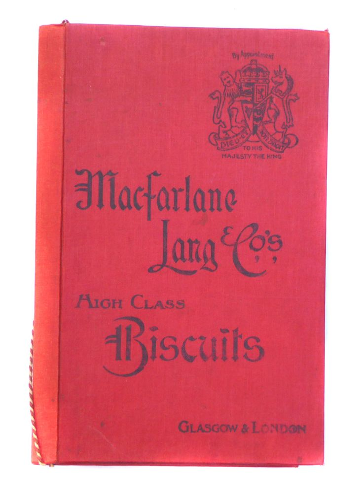 Macfarlane Lang Co's High Class Biscuits Railway Menu Cover Vintage Advertising Vintage Barware Drinking Transportation by BiminiCricket on Etsy