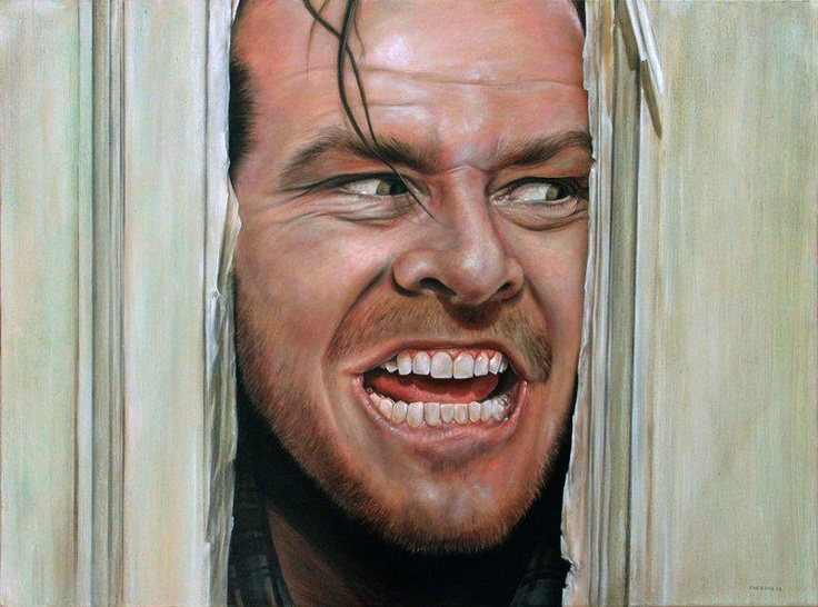 The Shining - Oil on canvas 80x60 cm