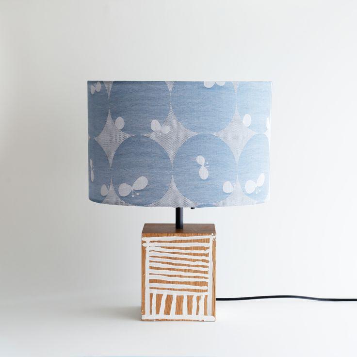 POOL マチマチの灯り Perhonen Blue: ランプ デザイン家具 インテリア雑貨 - IDEE SHOP Online