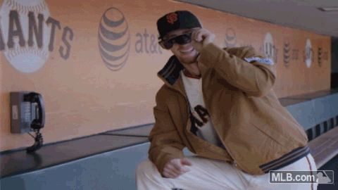 "Watch all your San Francisco favorites combine in the Giants' ""Full Clubhouse"" - Full video here!"