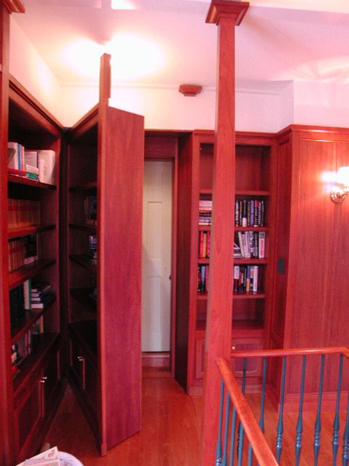 17 best ideas about hidden panic rooms on pinterest for Custom panic room