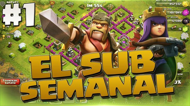 El SUB Semanal - ¡Regalando GEMAS!   Clash of Clans en Español