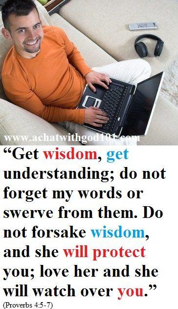 GET WISDOM.