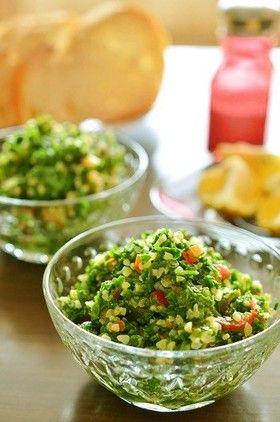 トルコ料理☆ブルグルとパセリの緑サラダ by hisosari [クックパッド ...