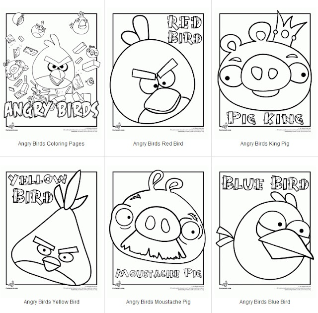 Free angry birds coloring pagesBirds Colors, Birthday Parties, Angry Birds Printables, Coloring Pages, Parties Ideas, Birds Parties, Party Ideas, Colors Pages, Angrybirds
