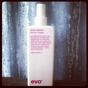 Over-zealous with the old straightners & tongs? Busy barbequeing your poor hair on a daily basis? Make amends with this brilliant HEAT PROTECTING SPRAY from Evo. ICON WELDER will protect your hair from heat, guard against humidity, has a great hold factor. adds volume and helps protect from uv damage! All for a mere £12.95...Grab yours while stock lasts.