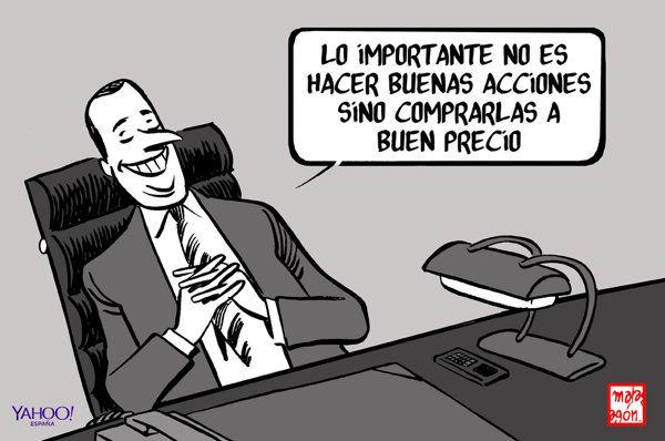 Ley Mordaza | Tinta permanente - la viñeta de Malagón - Yahoo Finanzas España
