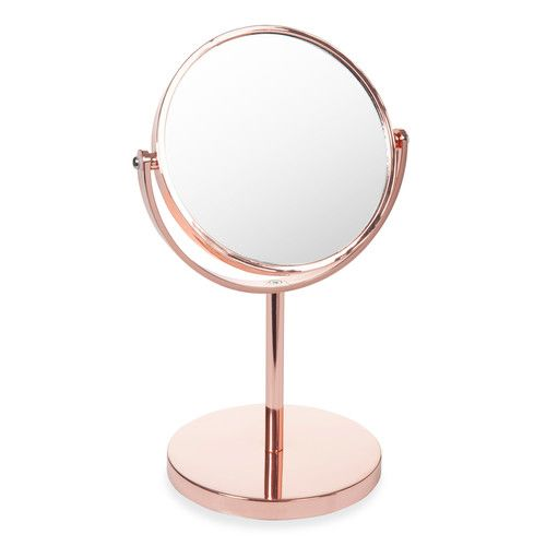 miroir poser cuivr swaggy copper o b j e t s miroir. Black Bedroom Furniture Sets. Home Design Ideas