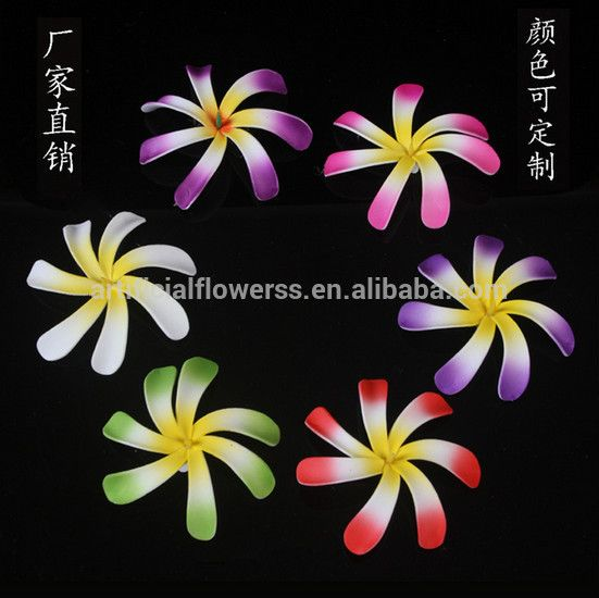 Wedding Hair Accessory Handmade Artificial Plumeria Flower - Buy High Quality Artificial Plumeria Flower,Foam Plumeria Flowers,Hawaiian Foam Hair Flowers Product on Alibaba.com