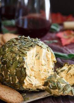 This pumpkin herb ch This pumpkin herb cheese ball is perfect...  This pumpkin herb ch This pumpkin herb cheese ball is perfect for fall appetizer spreads. Throw an adult Halloween party and make sure this is on the menu! Recipe : http://ift.tt/1hGiZgA And @ItsNutella  http://ift.tt/2v8iUYW