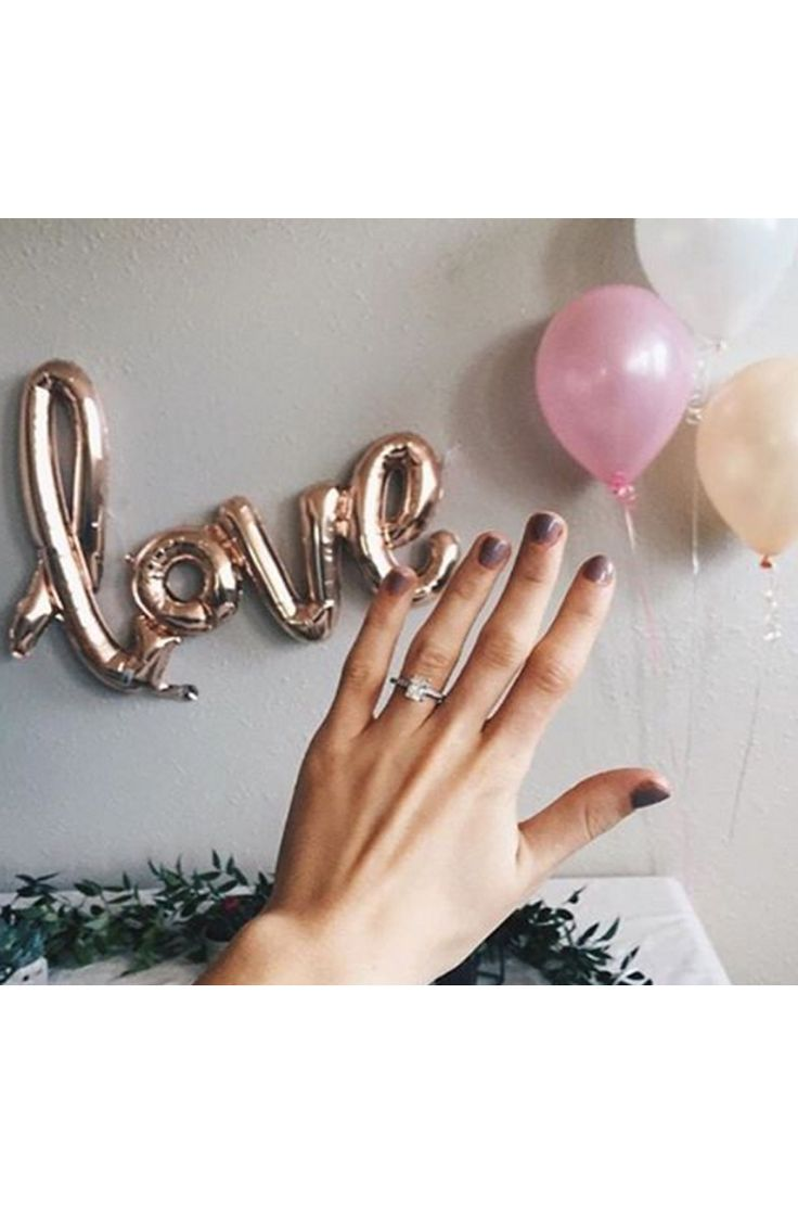 Nothing says love like party balloons! http://www.stylemepretty.com/2016/05/05/smpringselfie-hall-of-fame/