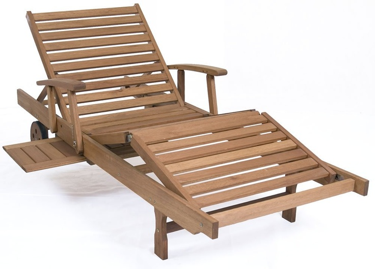outdoor chaise lounge mariscal lounger eucalyptus wood wood finish intbt