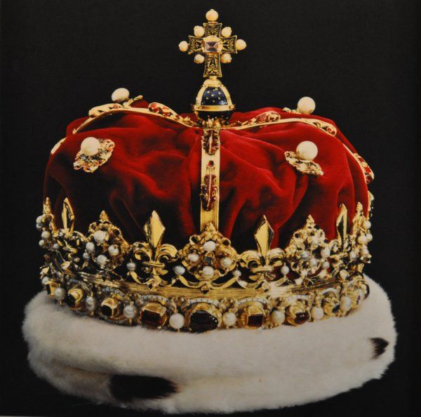 Royal Crown of Scotland - got to see these crown jewels