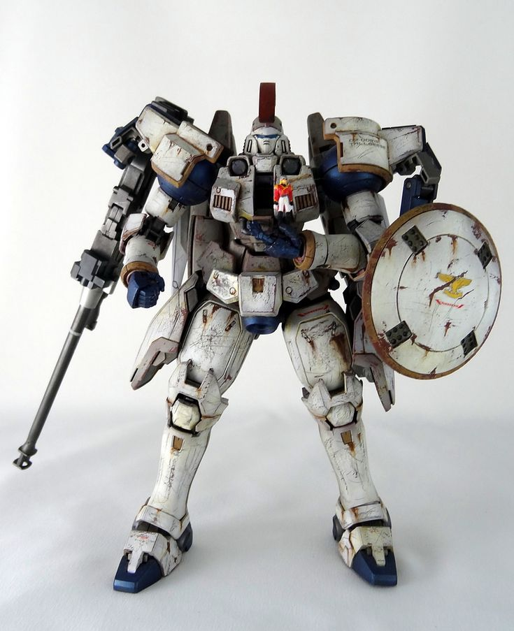 tall gese | GUNDAM GUY: MG 1/100 Tallgeese EW Battle Damaged - Painted Build