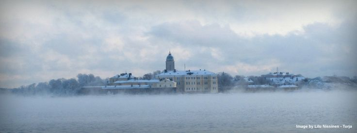 #Suomenlinna <3 what a fantastic view during winter time